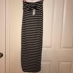 New With Tags Windsor Striped Dress In Medium